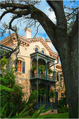 New Orleans villa — Stock Photo