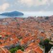 Rooftops  of old town Dubrovnik, Croatia - Stock Photo