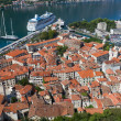 Kotor town in bay, Montenegro — Stock Photo #6713560