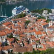 Stadt Kotor in Montenegro bay — Stockfoto