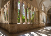 Cloister of franciscan monastery in Dubrovnik, Croatia, — Stock Photo