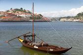 Port storage in Porto, Portugal — Stock Photo