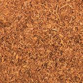 Cut Pipe Tobacco Texture Background Macro Closeup — Stock Photo