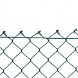 New wire security fence isolated — Stock Photo #6528431