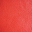 Red Grain Leather Natural Background, Macro Closeup Detailed — Stockfoto #6732193