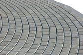 Cobblestone Pavement Texture, Isolated — Stock Photo
