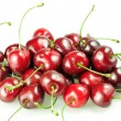 Heap of cherries isolated — Stock Photo