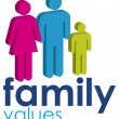 Family Values — Stock Photo