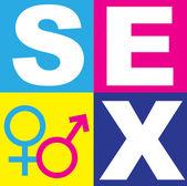 性别符号 — 图库照片