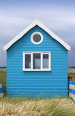 Beach hut — Stockfoto