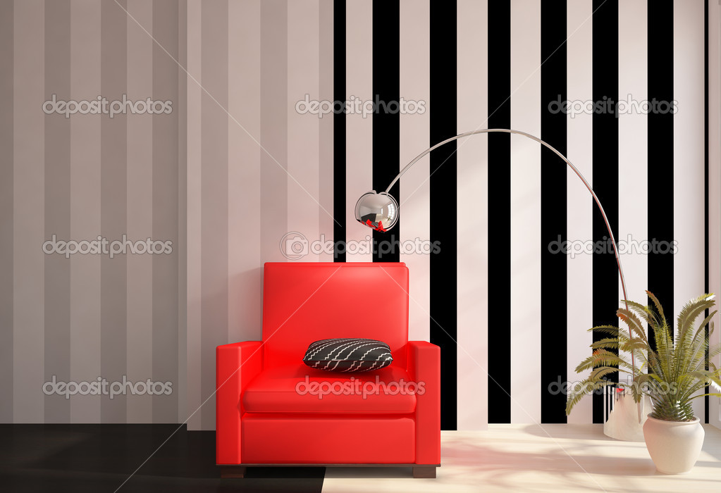 Colored Interior Design Stock Photo Antoha713 5631729