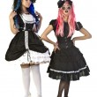 Gothic Dolls — Stock Photo