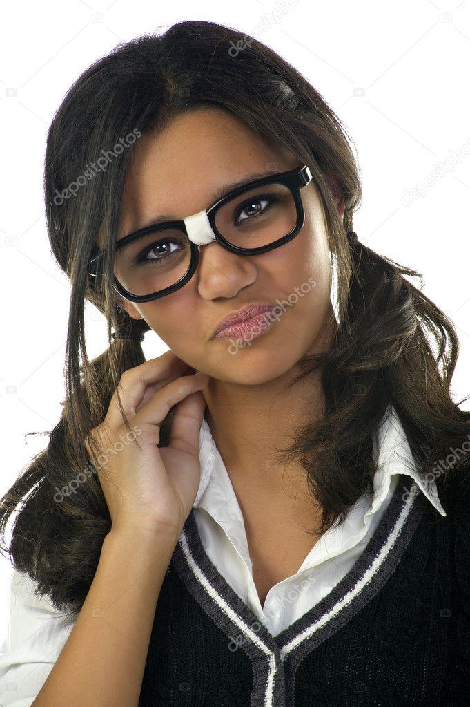 Nerd girls geek dork
