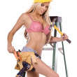 Sexy Construction Worker — Stock Photo #6637922