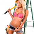 Sexy Construction Worker — Stock Photo #6637924