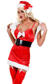 Sexy Christmas Elf — Stock Photo