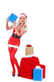 Christmas Helper — Stock Photo