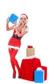 Christmas Helper — Stock Photo