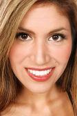 Latino Woman Close Up — Stock Photo