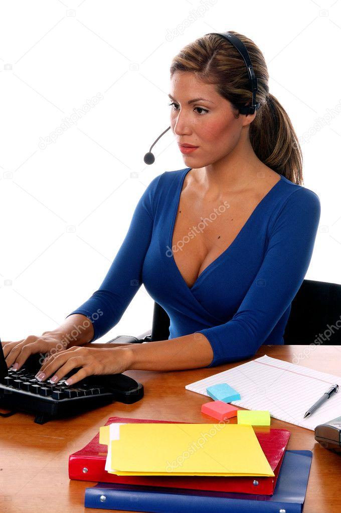 Receptionist — Stock Photo © realdealphoto #6718183