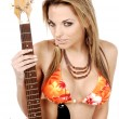Rock and Roll Bikini - Stock Photo
