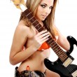 Rock and Roll Bikini — Stock Photo