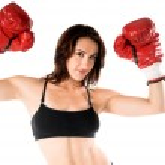 Female Boxer — Stock Photo #6738000