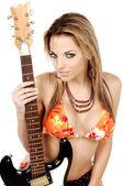 Rock and Roll Bikini — Stock Photo