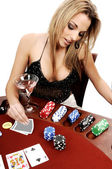 Sexy Texas Hold Um — Stock Photo