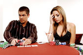 Texas Hold um — Stock Photo