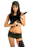 Sexy Soldier — Stock Photo