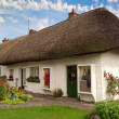 Irish cottage house — Stock Photo