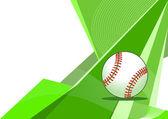 Baseball, abstract design — Stock Vector