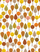 Autumn woods — Stock Vector