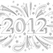 New year - Stock Vector