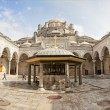 Mosque courtyard - Stock Photo