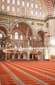 Inside Suleymaniye Mosque — Stock Photo