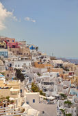 Santorini-architektur — Stockfoto