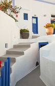 Santorini architecture — Stock Photo