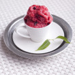 Stock Photo: Berry sorbet
