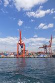 Industrial port of Istanbul, Turkey. — Stock Photo