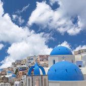 Village of Oia, Santorini. — Stock Photo
