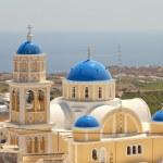 Santorini church — Stock Photo #6257376