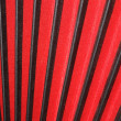 Bellows of accordion, red and black - Stock Photo