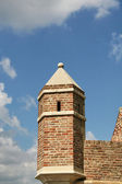 Detail of towers — Stock Photo