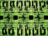 Vydělávat peníze prostřednictvím elektronických — Stock fotografie
