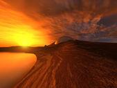 Taurum niebo — Zdjęcie stockowe