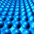 Stock Photo: Spheres Background