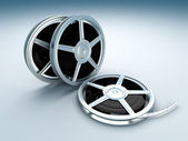 Film Reels — Stock Photo