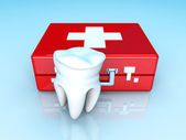 Tooth First aid — Stock Photo